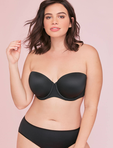 Lane Bryant's Lightweight Multi-Way Strapless Bra