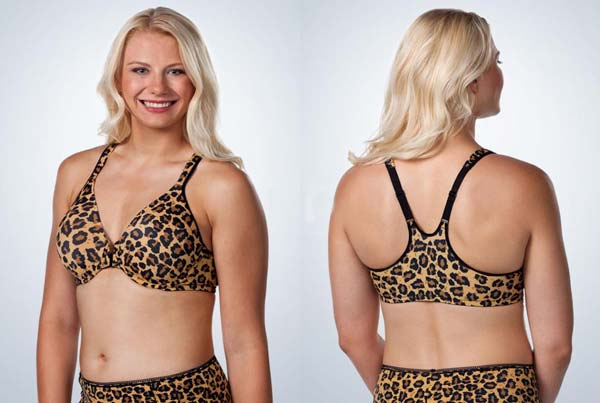 Leading Lady's Front Closure Racer Back Underwire Bra (Bigger Band Option)